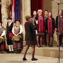 Esibizione del Coro alla Rathaus